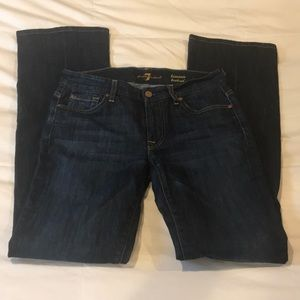 7 For All Mankind bootcut jeans, size 27
